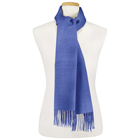 "100% Alpaca, Scarf - 11""x70"", Royal Blue"