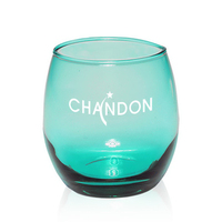 11.5 oz. Mikonos Green Stemless Wine Glass