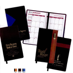 """Styles """"Lafayette"""" 2-Tone Soft Vinyl Cover Pocket Planners"""