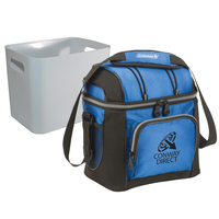 9 Can Soft Side Cooler with Removable Hardside Liner