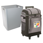 42 Can Wheeled Soft Side Cooler with Removable Liner