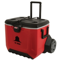 55 Quart (84 Can) Rugged All Terrain Wheeled Cooler