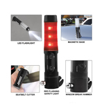 Auto emergency rescue light and escape tool