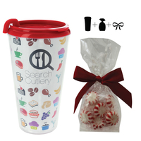 Plastic Travel Mug with Starlite Mints - 16 oz. Drinkware