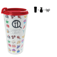 Plastic Travel Mug Empty - 16 oz.