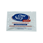 One Step Antimicrobial Towelette