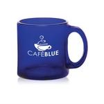 13oz. Libbey (R) Cobalt Blue Glass Coffee Mug