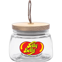 38 oz. Round Glass Candy Jars with Wooden Lid