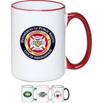 15 oz. Large Halo Coffee Mug