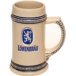 17 oz. Ceramic Stoneware Tankard Customized Beer Mug