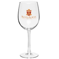 ARC Cachet 16 oz White Wedding Wine Glass