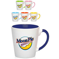 12 oz. Miami Two-Tone Latte Mug