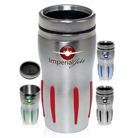 16 oz. Sporty Stainless Steel Discount Tumbler