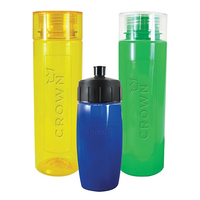Custom 2drink (R) Embossed Water Bottle