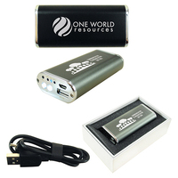 Fifty Two Hundred Power Bank and LED Light