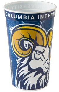 22 oz. Smooth Walled Stadium Cup with RealColor360 Imprint