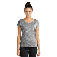 Sport-Tek Ladies PosiCharge Electric Heather Sporty Tee.