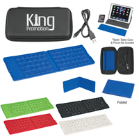 Folding Wireless Keyboard With Case