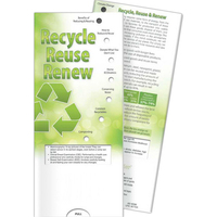 Pocket Slider (TM) - Recycle, Reuse, Renew