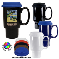 16oz Fargo Classic Travel Mug, four color process