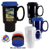 20oz Fargo Classic Travel Mug, four color process