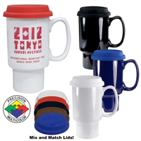 16oz Fargo Classic Travel Mug, spot color