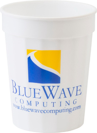 17 oz. Fluted Stadium Plastic Cup