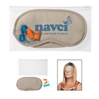 Ear Plugs and Eye Mask Set