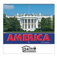 2018 America! Wall Calendar - Spiral