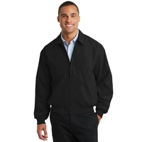 Port Authority Casual Microfiber Jacket.