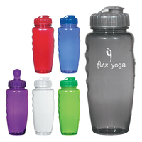 30 Oz. Poly-Clear Gripper Bottle