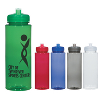 32 Oz. Hydroclean Sports Bottle With Push/Pull Lid