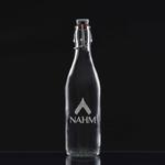Deep Etched Medium Giara Bottle