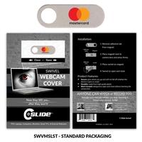 Webcam Cover Swivel Metal - Standard packaging