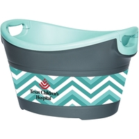 Party Bucket - Charcoal/Seafoam