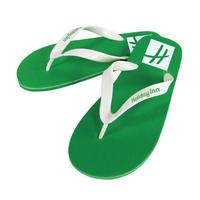 """Flip Flop - """"Rio"""" Rubber Sandal with Vinyl Straps"""