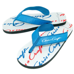 Flip Flop - Riviera Rubber Sandal with Fabric Straps