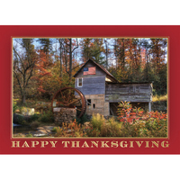 Fall Foliage Greeting Card