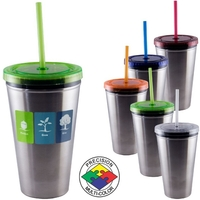 14oz Transformer Chiller Tumbler with Lid&Straw, spot color