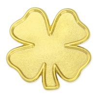 Gold Four Leaf Clover Pin