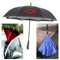 43 Inch Arc Auto Open Upside Down Inverted Umbrella
