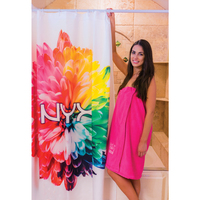 Sublimated Shower Curtain