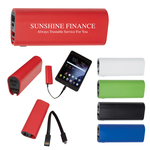 UL Listed Power Bank With Micro Charger