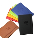 Black New Age Italian PU Leather Journal Book
