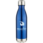 Apollo 17 oz Double Wall Stainless Vacuum Bottle