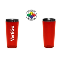 3.5oz Acrylic Stainless Cordial Shooter, spot color