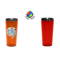 3.5oz Acrylic Stainless Cordial Shooter, four color