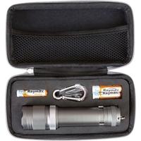 3AAA Aluminum Matrix Flashlight w/Cree LEDs in Zippered Case