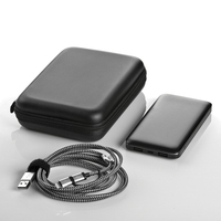 10,000 mAh metal power book + MFi Cable gift pouch set