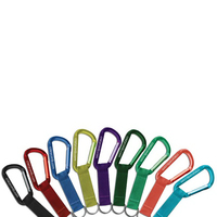 Carabiners, 80mm w/embd strap, China Direct